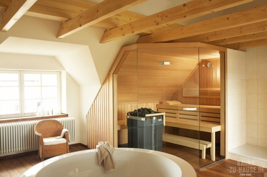 Wonderful Home Sauna Design Ideas 31