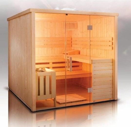 Wonderful Home Sauna Design Ideas 32