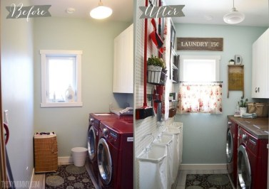 Amazing Diy Laundry Room Makeover With Farmhouse Style Ideas 02