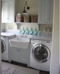 Amazing Diy Laundry Room Makeover With Farmhouse Style Ideas 11