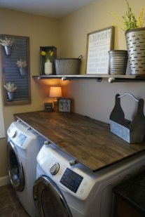 Amazing Diy Laundry Room Makeover With Farmhouse Style Ideas 14