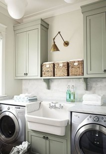 Amazing Diy Laundry Room Makeover With Farmhouse Style Ideas 40