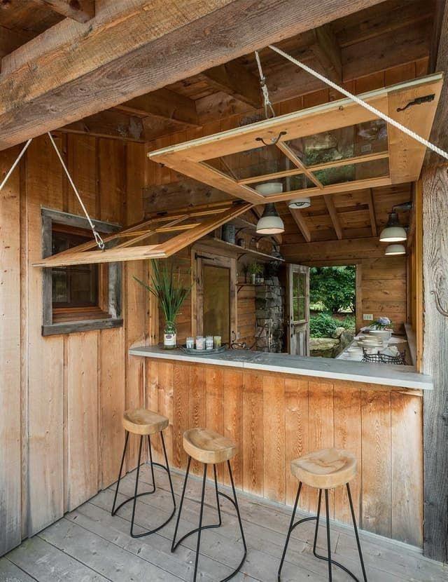 Attractive Sunken Ideas For Backyard Landscape 25