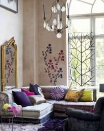 Comfy Boho Bedroom Decor With Attractive Color Ideas 11
