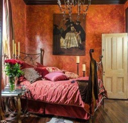 Comfy Boho Bedroom Decor With Attractive Color Ideas 35