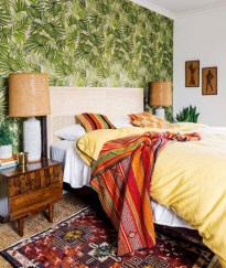 Comfy Boho Bedroom Decor With Attractive Color Ideas 37