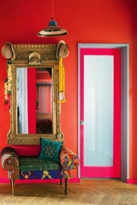 Comfy Boho Bedroom Decor With Attractive Color Ideas 46