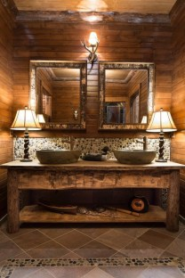 Creative Rustic Bathroom Ideas For Upgrade Your House 28