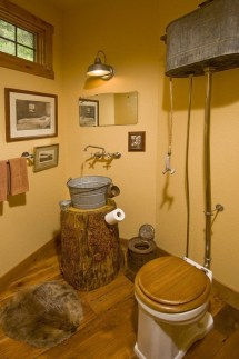 Creative Rustic Bathroom Ideas For Upgrade Your House 38
