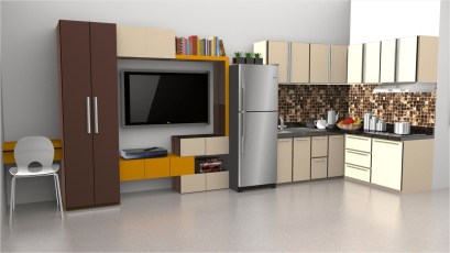 Incredible Kitchen Cabinet Design For Small Spaces 18