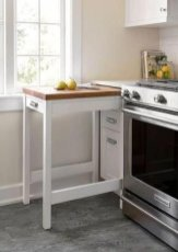 Incredible Kitchen Cabinet Design For Small Spaces 19