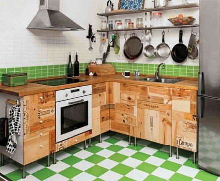 Incredible Kitchen Cabinet Design For Small Spaces 23