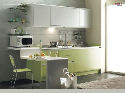 Incredible Kitchen Cabinet Design For Small Spaces 33