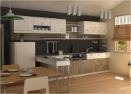 Incredible Kitchen Cabinet Design For Small Spaces 34