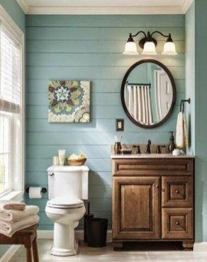 Lovely Modern Farmhouse Design For Bathroom Remodel Ideas 08
