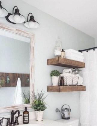 Lovely Modern Farmhouse Design For Bathroom Remodel Ideas 15