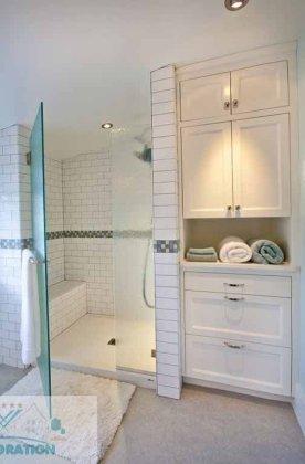 Lovely Modern Farmhouse Design For Bathroom Remodel Ideas 17