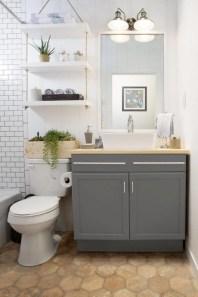 Lovely Modern Farmhouse Design For Bathroom Remodel Ideas 31