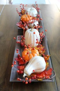 Lovely Turkey Decor For Your Thanksgiving Table Ideas 14