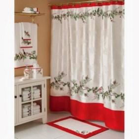 Minimalist Bathroom Winter Decoration Ideas 21