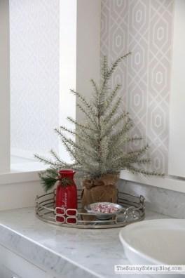 Minimalist Bathroom Winter Decoration Ideas 41