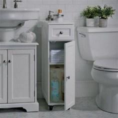 Minimalist Small Bathroom Storage Ideas To Save Space 04