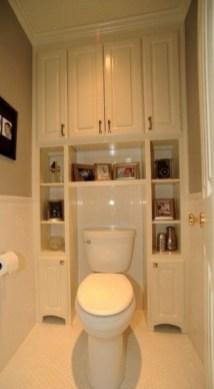 Minimalist Small Bathroom Storage Ideas To Save Space 33