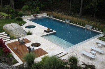 Modern Small Backyard Ideas With Swimming Pool Design 11