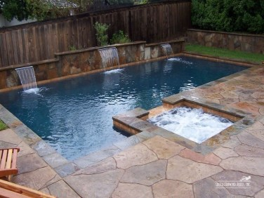Modern Small Backyard Ideas With Swimming Pool Design 35