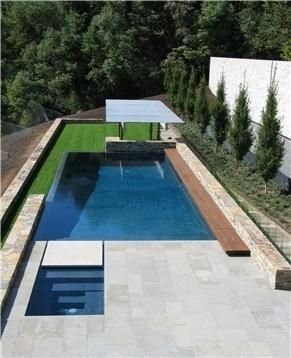 Modern Small Backyard Ideas With Swimming Pool Design 42