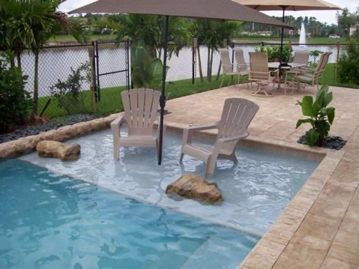 44 Modern Small Backyard Ideas With Swimming Pool Design ...