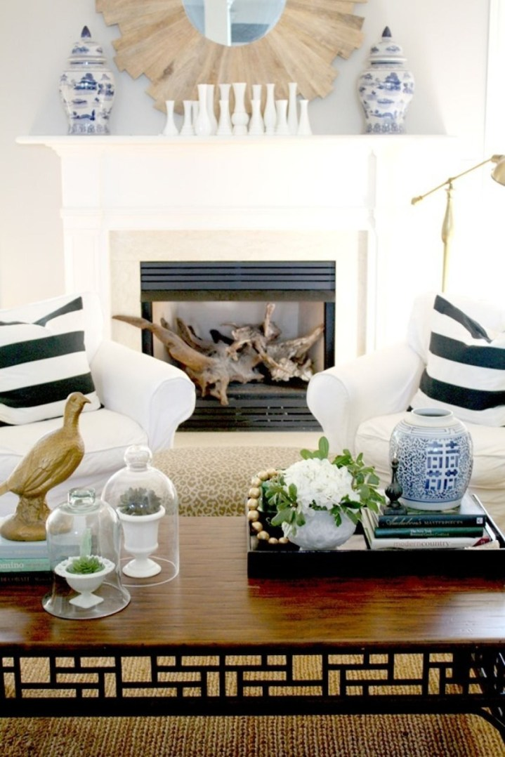 Popular Coffee Table Styling To Living Room Ideas 34