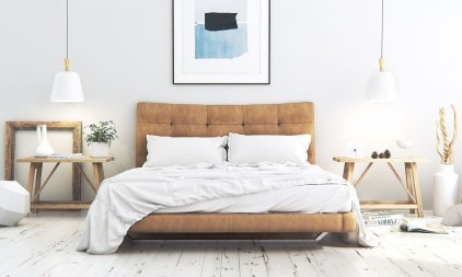 Popular Scandinavian Bedroom Design For Simple Bedroom Ideas 24
