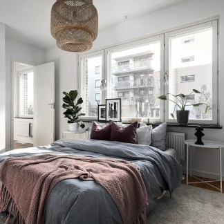 Popular Scandinavian Bedroom Design For Simple Bedroom Ideas 37