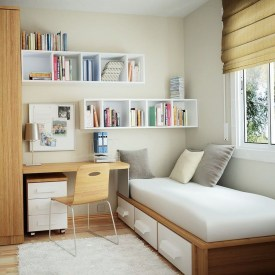Simple Tiny Bedrooms Design With Huge Style Ideas 15