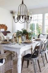 Stylish Fall Home Decor Ideas With Farmhouse Style 22