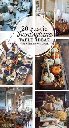 Stylish Thanksgiving Table Ideas 17