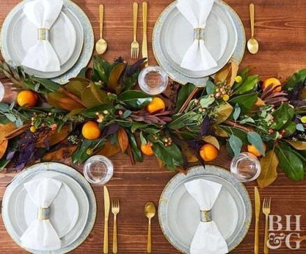 Stylish Thanksgiving Table Ideas 25
