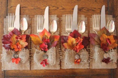 Stylish Thanksgiving Table Ideas 27