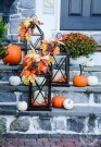 Unique Fall Front Door Decor Ideas 38