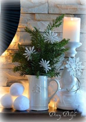 Unique Winter Decoration Ideas Home 07