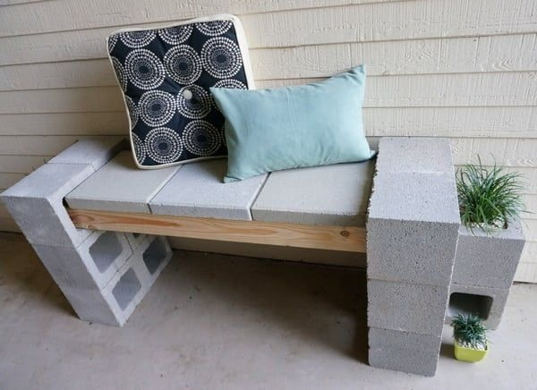 Astonishing Diy Cinder Block Furniture Decor Ideas 13