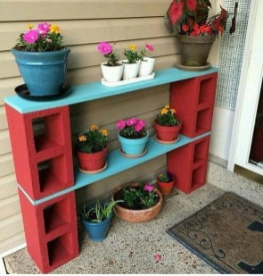 Astonishing Diy Cinder Block Furniture Decor Ideas 14