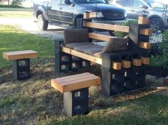 Astonishing Diy Cinder Block Furniture Decor Ideas 34