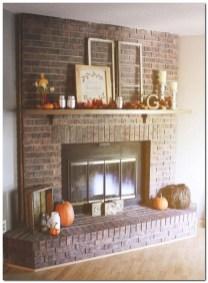 Creative Rustic Christmas Fireplace Mantel Décor Ideas 01