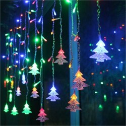 Easy Christmas Tree Decor With Lighting Ideas 04