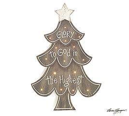 Easy Christmas Tree Decor With Lighting Ideas 18