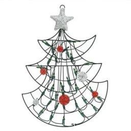 Easy Christmas Tree Decor With Lighting Ideas 20