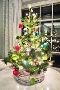 Easy Christmas Tree Decor With Lighting Ideas 36