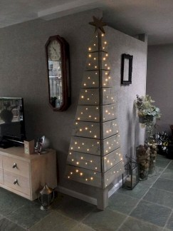 Easy Christmas Tree Decor With Lighting Ideas 47